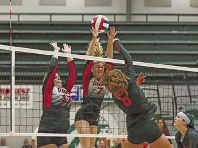Claremore VB reaches state semifinals for first time