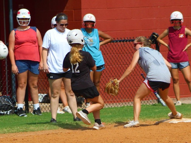 Claremore softball practices fielding, base running as season approaches