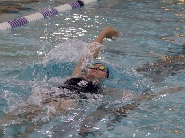 Shawnee swimmers glide by three teams from Moore