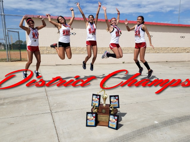 Image for Shary XC Girls Win District Meet
