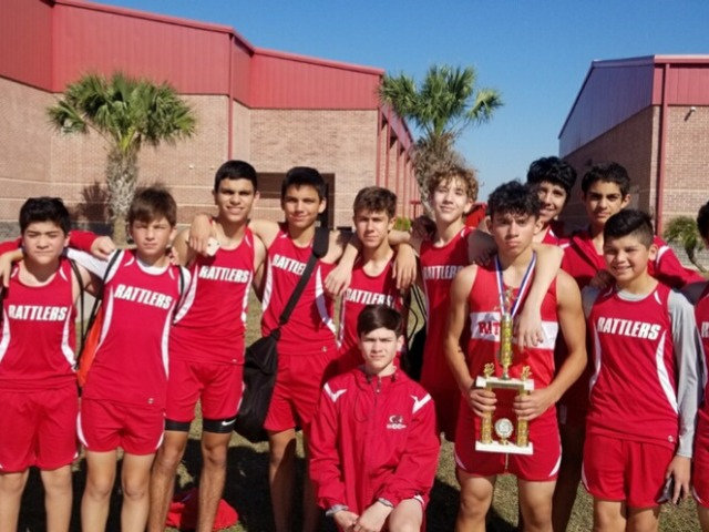 8th Grade XC Boys District Champs