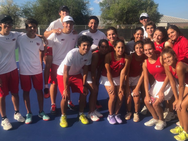 Shary Tennis Wins Bi-District Title