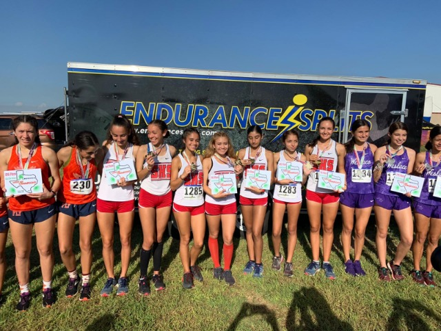 XC Girls Win Meet of Champs Elite Division