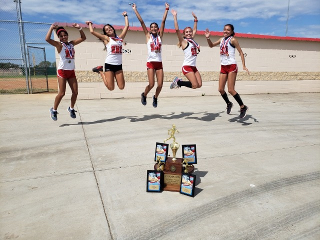 Lady Rattlers running for more: Big 7 schools post impressive District XC meet performances