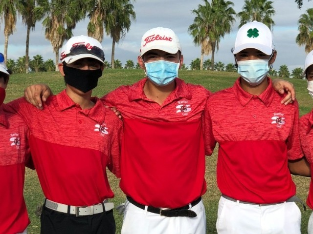 Shary Golf Places 6th