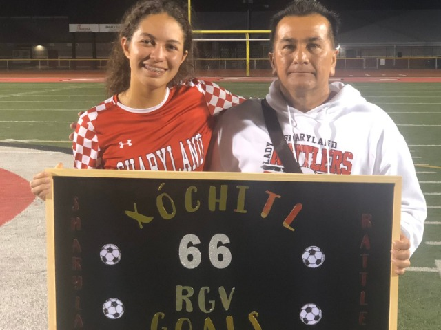 Xochitl Nguma breaks the RGV single season scoring record