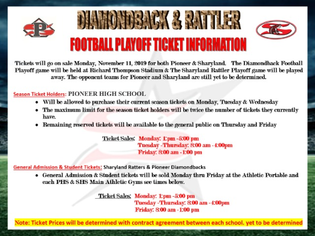 Image for Football Playoff Info