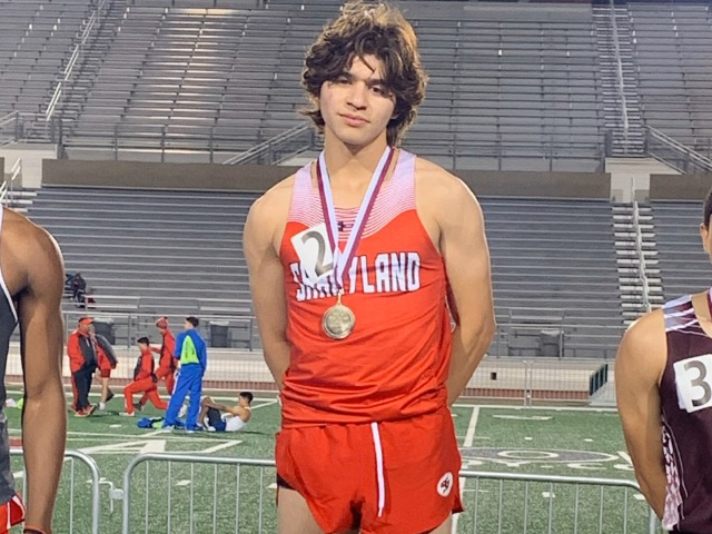 Image for Bobby Garcia Wins 200 Meter