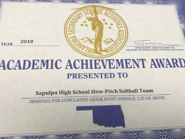 Softball Academic Honor