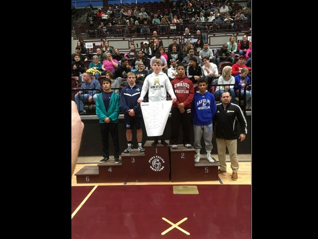 Isaiah Smith- State Wrestling
