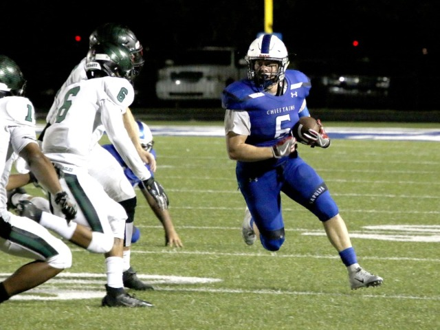 Sapulpa lights up Edison in first home football game of the season