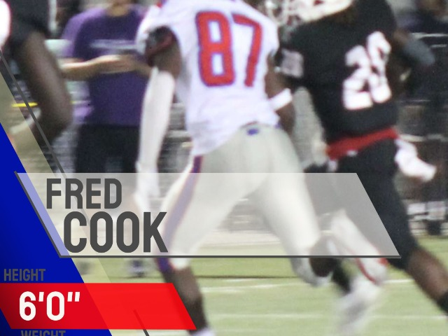 Defensive Player of the Week, Fred Cook
