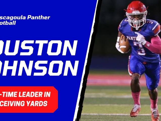 Senior Wide Receiver Houston Johnson Breaks PHS Record