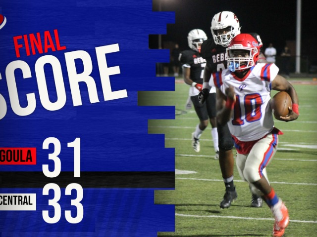 Panthers Lose A Close One to Harrison Central, 33-31