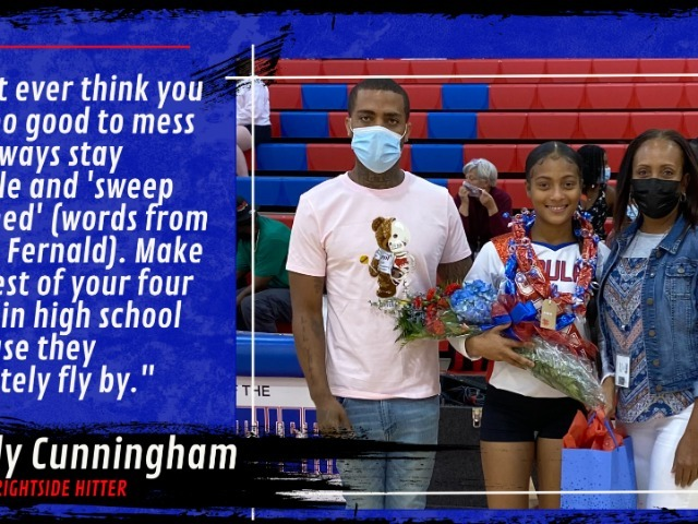 Pascagoula Volleyball Recognizes Senior, Karly Cunningham