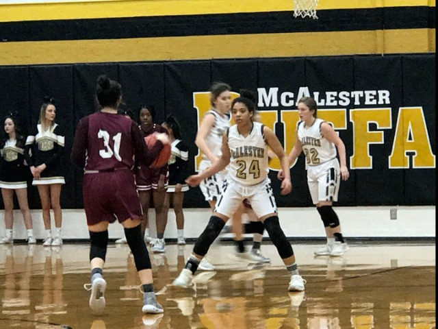 McAlester to face Tulsa East Central in Area Consolation bracket