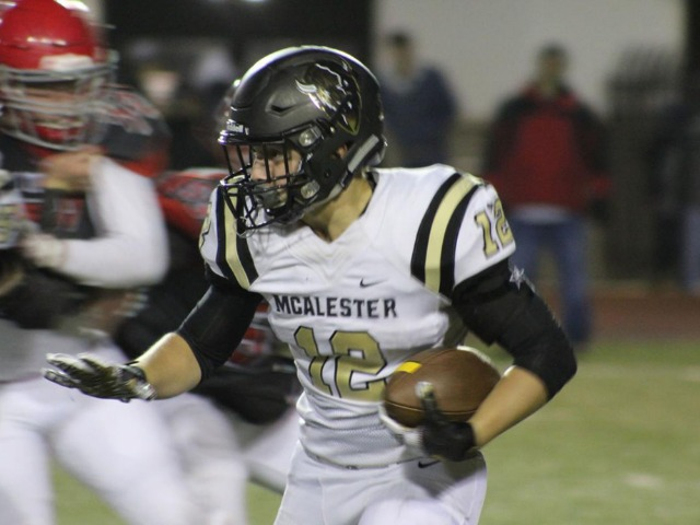 Trevor Spence looking to finish strong at McAlester