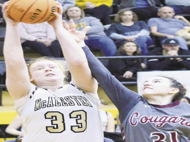 Image for McAlester loses on last-second shot