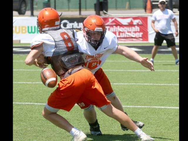 Image for  Tigers wrap up week one of spring practice
