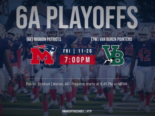 Playoff Football Ticket Info vs Van Buren