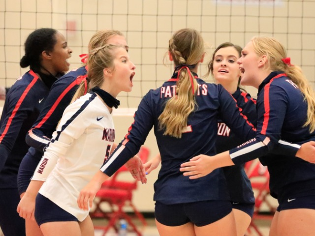 Patriot Volleyball On A Winning Streak