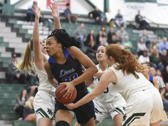 Moore's Aaliyah Moore reaches 1,000 career points