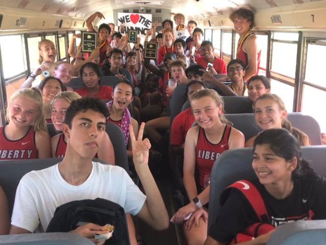 Liberty Cross Country Teams Win Fossil Ridge Meet