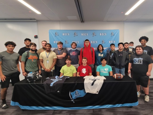 Cameron Whipple signs with Southern Virginia