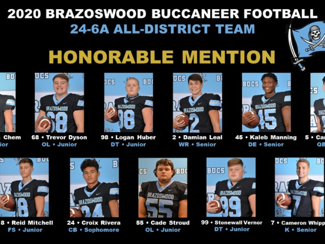 Image for Honorable Mention All District