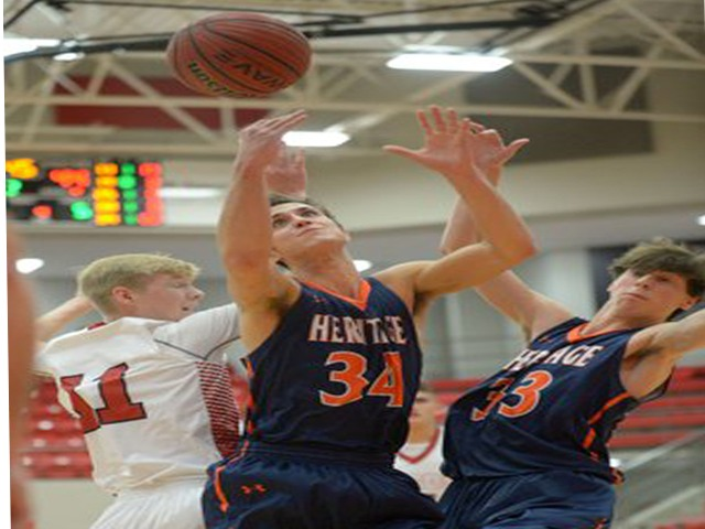Rogers Heritage boys ride red-hot first half to win