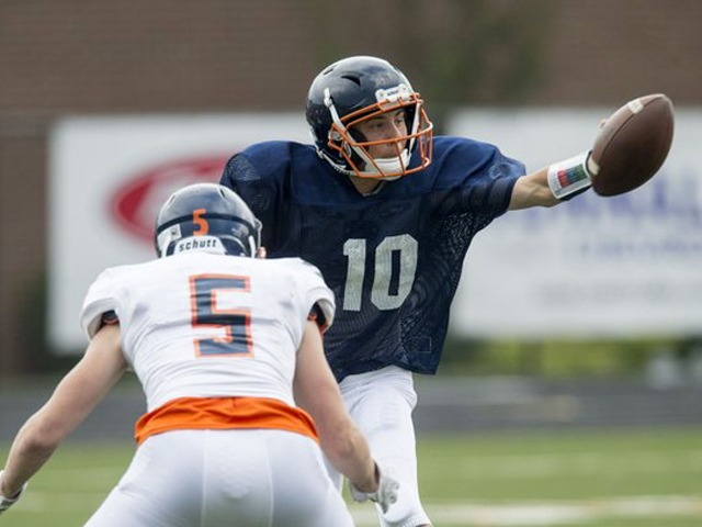 White team blanks Orange in Heritage spring scrimmage