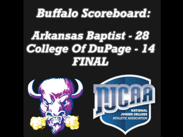 Buffaloes improve to 3-1!
