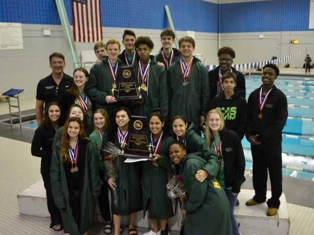 Congrats to our DISTRICT CHAMPS Swim TEAM!