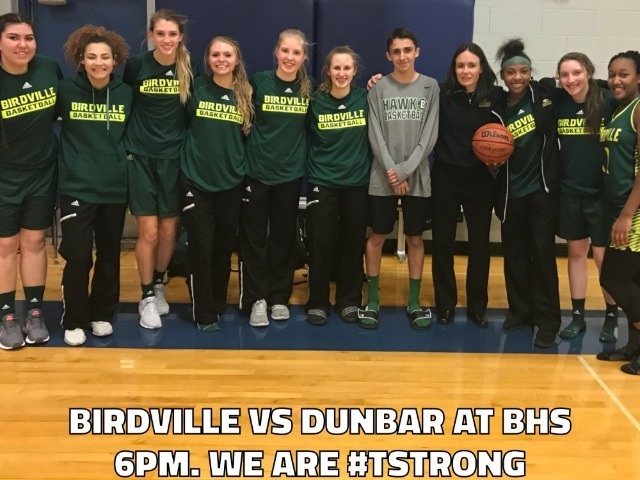 Girls/Boys Baskteball TONIGHT 6/7:30 PM at BHS