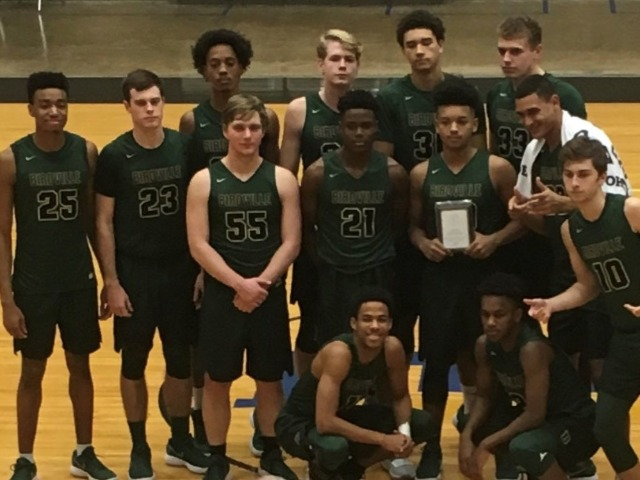 Boys basketball beats Dunbar 75-63 to move to 2nd place in 8-5A