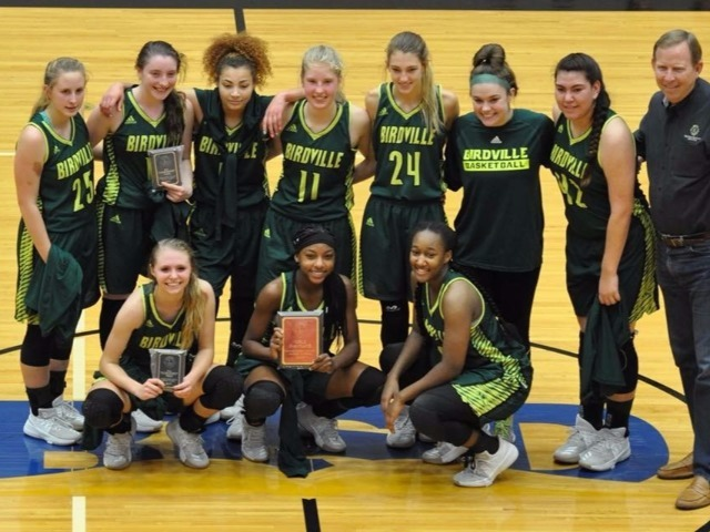 Lady Hawk basketball takes 2nd Place in 2017 Lions club tourney