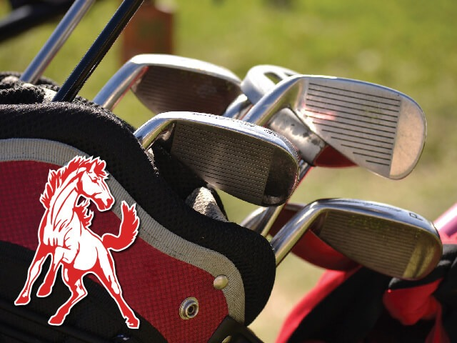 Mustang golf team is still in 3rd, but has 2 in regional contention