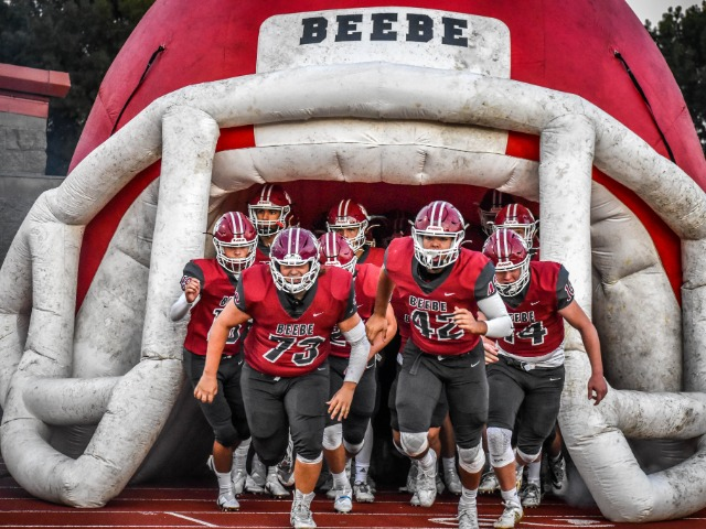Badger Football Defeats Hall High!