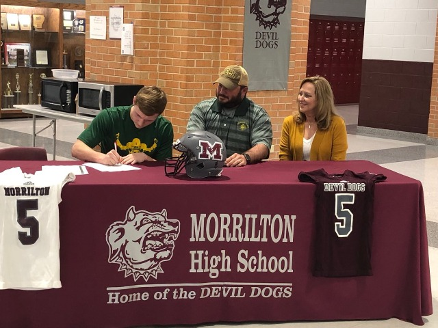 Dalton Kellar signing NLI to play at Arkansas Tech!!