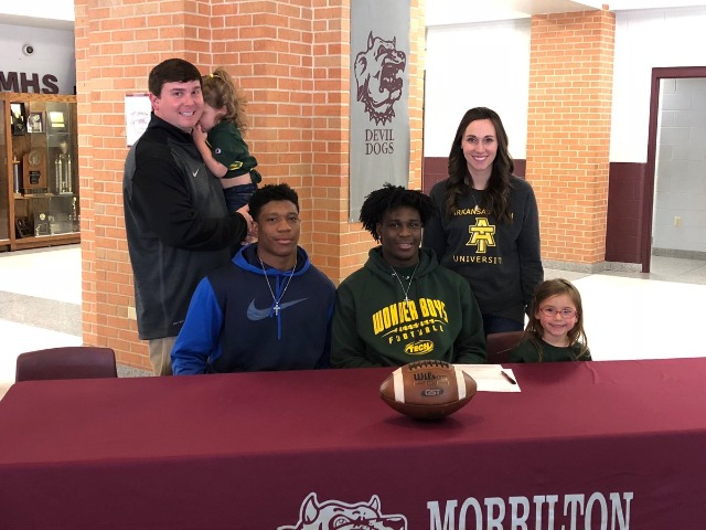 Tory Criswell on signing NLI to play Football for Arkansas Tech