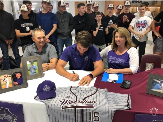 3 Devil Dogs sign baseball letters of intent