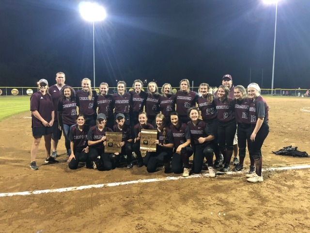 2019 4-4A Softball Conference and Tournament Champions