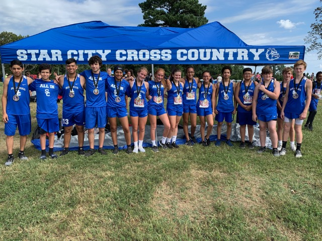 XC has Impressive Showing at Camp Robinson