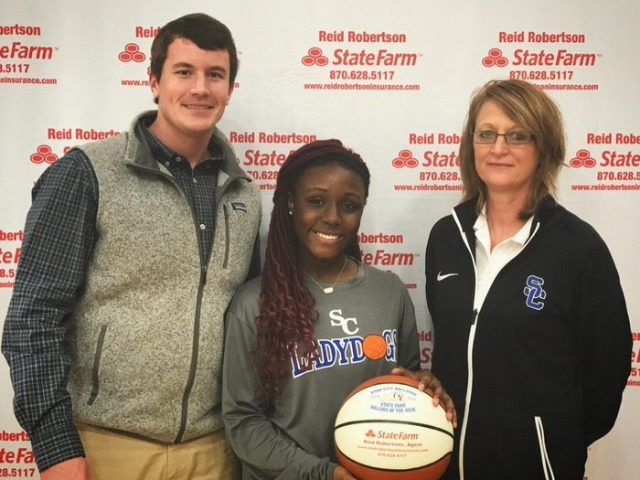 Janiya Johnson  selected player of the week