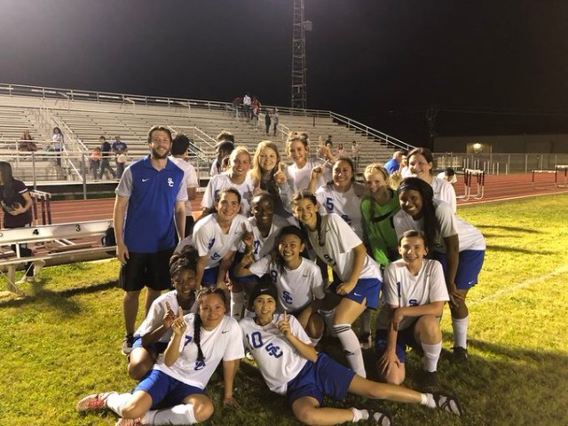 Ladydog Soccer qualifies for State for the First Time in Program History