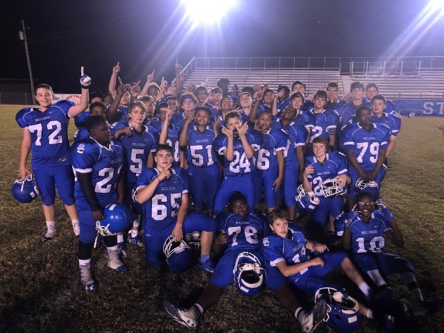 Junior High Bulldogs Finish Season as Undefeated 4A-8 Conference Champions