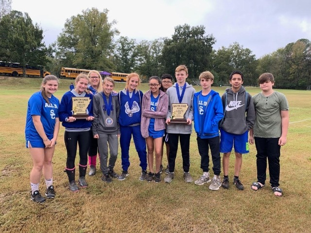 Bulldog XC Shows Out at 4A-8 Conference Meet