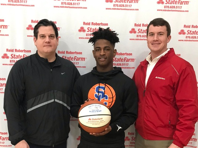 Marvion Scott selected as State Farm Player Of The Week!