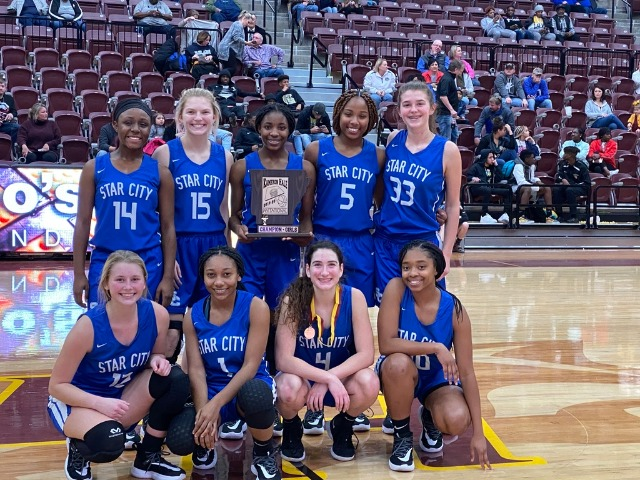 Ladydogs are the Lake Hamilton Tournament Champions