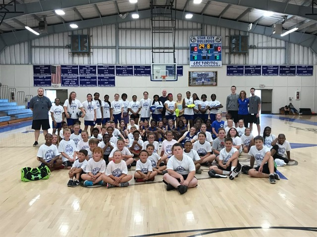 Ladydog Basketball Camp of Champs was a Huge Success